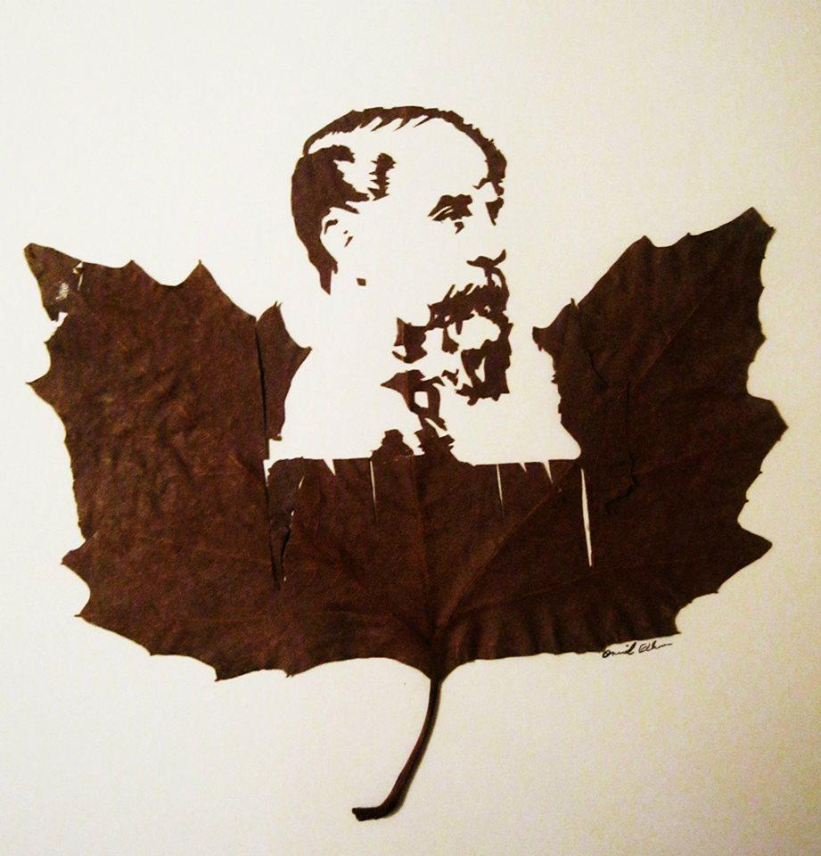 Портрет Чарльза Диккенса. Фото: facebook.com/omidasadiart