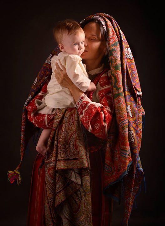 Образ украинской Мадонны. Фото: facebook.com/TretiPivni