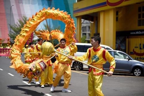 Танец с драконом. Фото: en.minghui.org