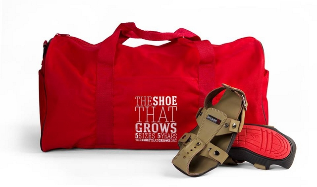 Фото: The Shoe That Grows/facebook.com
