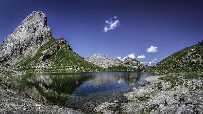 Сьоме місце: Природний заповідник «Озеро Волаєр» і довколишня територія, Каринтія, Австрія. Фото: GeKo15/wikilovesearth.org.ua. Вільна ліцензія CC BY-SA 3.0