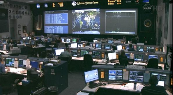 Хьюстон. Центр управления полетом. Фото: NASA via Getty Images