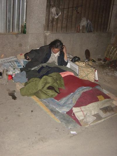 Нелёгкие жизненные условия китайских апеллянтов в Пекине. Фото с epochtimes.com