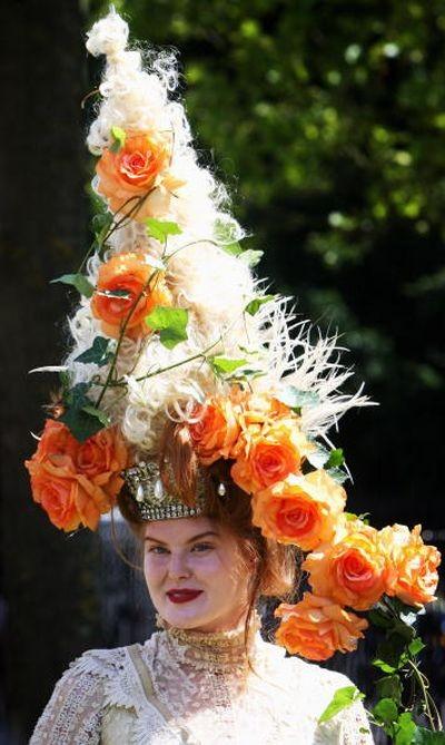 Самые интересные женские шляпы на скачках Royal Ascot/Getty Images