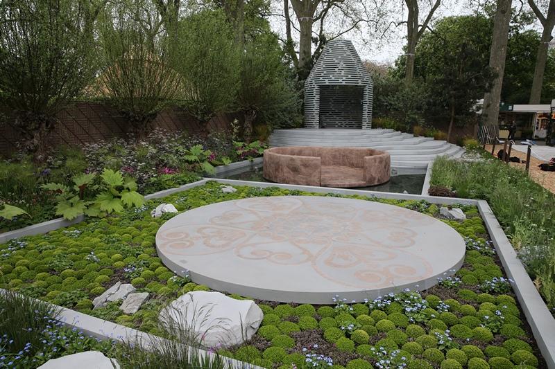 Сад принца Гарри «Незабудка» с растениями из Лесото на выставке цветов в Челси. Фото: Chris Jackson/Getty Images