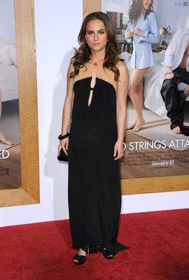 Натали Портман на премьере романтической комедии «Больше чем секс». Фото: Frazer Harrison/Getty Images