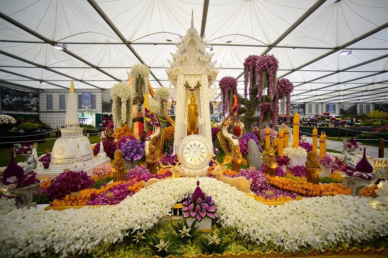 Экспозиция садов в Большом павильоне на выставке цветов в Челси. Фото: Ben A. Pruchnie/Getty Images