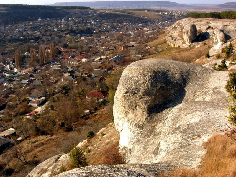 Пам'ятки Бахчисарая: сфінкси. Фото: Алла Лавриненко/Велика Епоха
