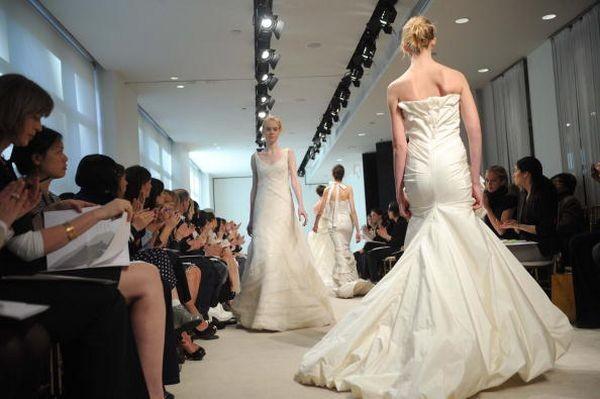 Колекція Bridal «Весна 2008» від Vera Wang.Фото: Brad Barket/Getty Images