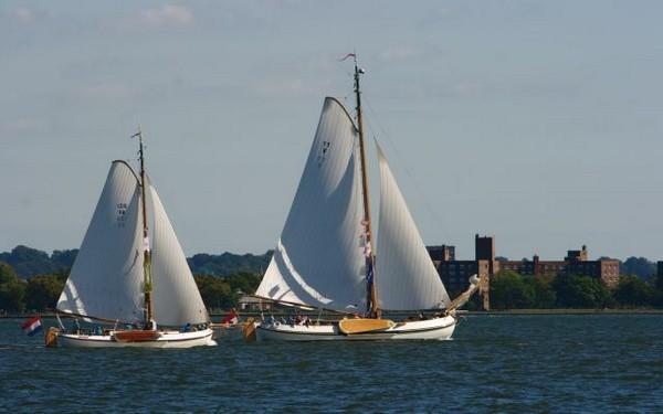 Соревнования на моторных лодках на реке Гудзон/ZHUYING Великая Эпоха