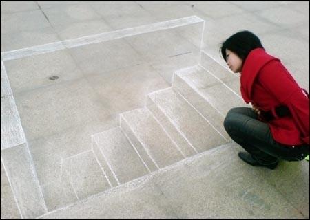 3D рисунки Хоу Чженфэна. Фото с epochtimes.com