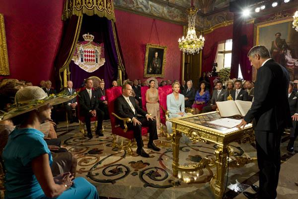 Свадьба князя Монако Альбера II и Шарлин Уиттсток. Фото: Eric Mathon - Palais Princier via Getty Images