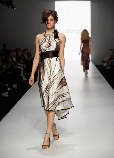 Коллекция одежды от дизайнера Nicolangela, фото:Gaye Gerard/Getty Images