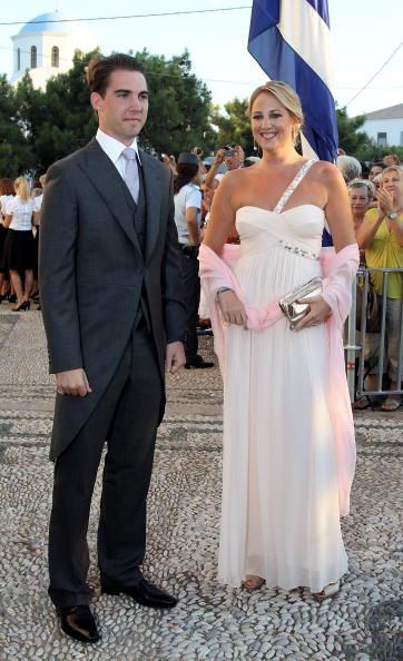 Гості на весіллі принца Греції Ніколаоса і Тетяни Блатнік. Принц Філіп та принцеса Теодора з Греції. Фоторепортаж. Фото: Chris Jackson / Getty Images