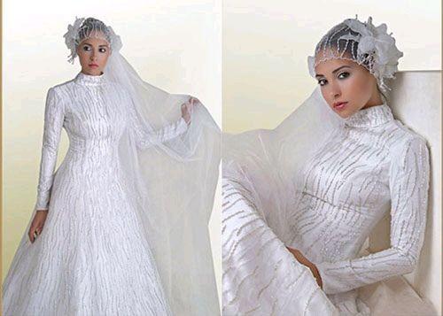 Весільна сукня арабських наречених враховує вдачу та звичаї мусульманського світу. Фото з secretchina.com
