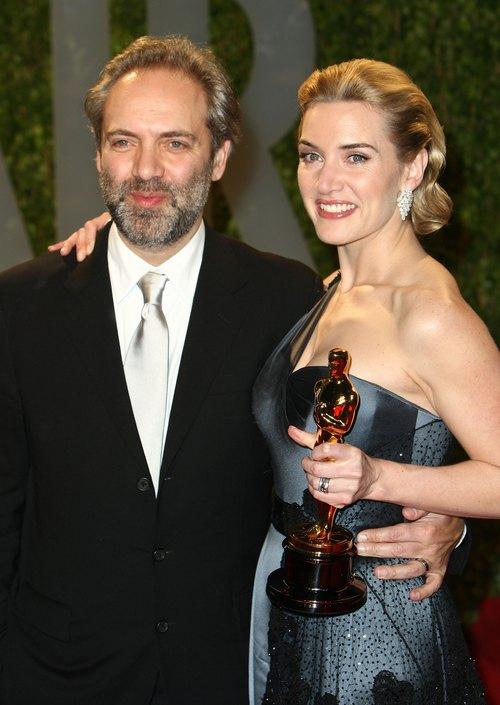 Кейт Вінслет і Сем Мендес, фото Alberto E. Rodriguez/Getty Images