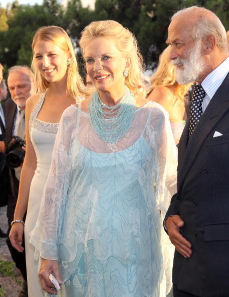 Гості на весіллі принца Греції Ніколаоса і Тетяни Блатнік. Принц і принцеса Майкл Кентські. Фоторепортаж. Фото: Chris Jackson / Getty Images