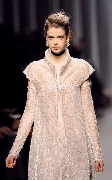 Показ колекції Karl Lagerfeld на Тижні моди 2011 в Парижі. Фото BERTRAND GUAY/AFP/Getty Images