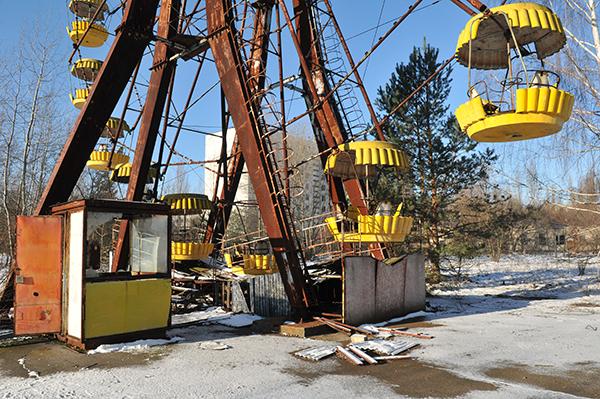 Колесо обозрения в Припяти. Фото: Владимир Бородин/The Epoch Times