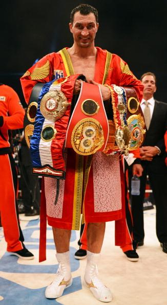 Володимир Кличко - Тоні Томпсон Фото: Christof Koepsel, Lars Baron /Getty Images Sport