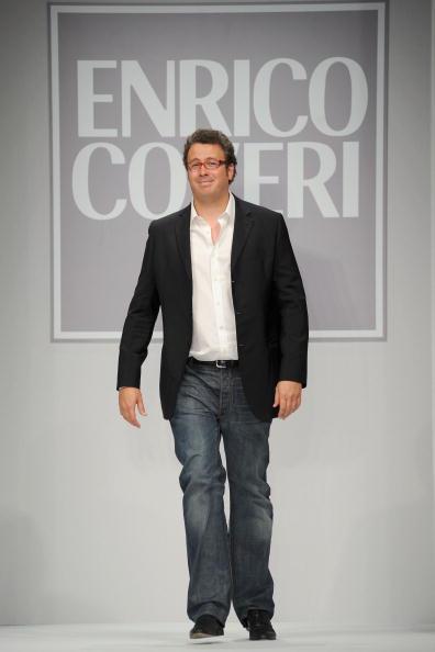 Чоловіча колекція Enrico Coveri. Фото: Stefania D''alessandro/getty Images