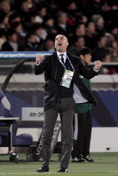 Хосеп Гвардиола, тренер Барселоны. Фото: Getty Images Sport