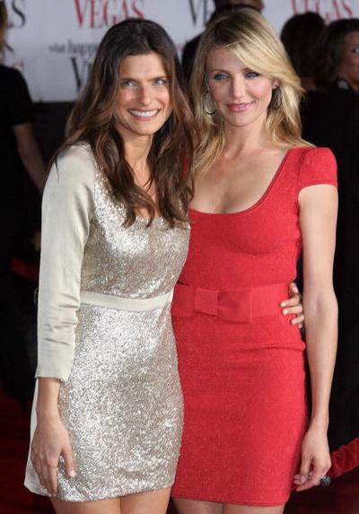 Актриса Лэйк Белл и актриса Кэмерон Диаз посетили премьеру фильма «Однажды в Вегасе» в Лос-Анджелесе, Калифорния. Фото: VALERIE MACON/AFP/Getty Images