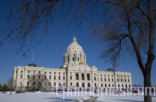 Здание правительства штата Миннесота. Фото: Великая Эпоха