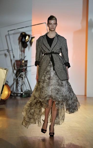 Новая коллекция Toni Maticevski сезона осень-зима на Неделе моды Mercedes-Benz в Нью-Йорке. Фото: Getty Imges
