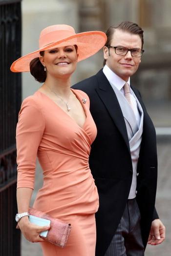 Принцесса Виктория и князь Даниил из Швеции. Фото: Chris Jackson/Getty Images