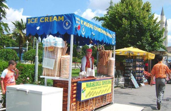 Продавец мороженого. Фото: Ирина Рудская. The Epoch Times