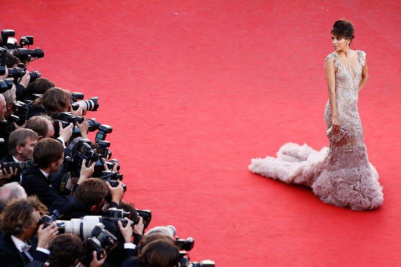 Канни, Франція, 16травня. Єва Лонгорія на прем'єрі фільму «Королівство повного місяця» в рамках 65-го Канського кінофестивалю. Фото: Andreas Rentz/Getty Images