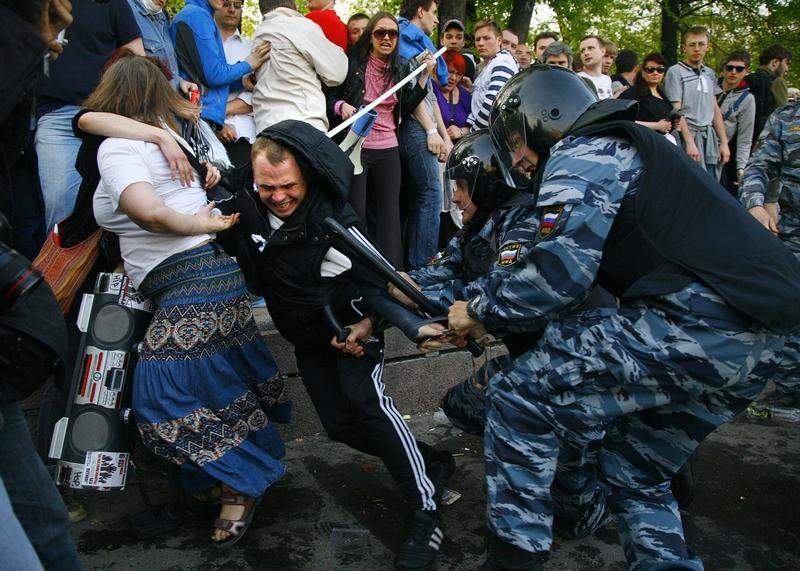 «Марш миллионов» в Москве. Фото: MIKHAIL POCHUEV/AFP/GettyImages