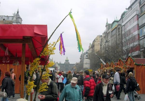 Великодня ярмарок на Вацлавській площі. Фото: Алла Лавриненко/The Epoch Times Україна