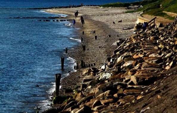 Пляж для туристов. Фото: Win McNamee/Getty Images