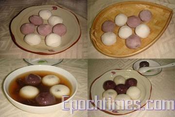 «Юаньсяо» - традиционная еда на праздник фонарей в виде сладких шариков, символизирующих дружную крепкую и сплочённую семью. Фото: Великая Эпоха