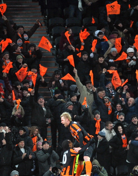 «Шахтер» (Донецк, Украина) – «Рома» (Италия) Фото: SERGEI SUPINSKY /Getty Images Sport