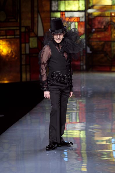 Британский дизайнер John Galliano. Фото: Getty Images