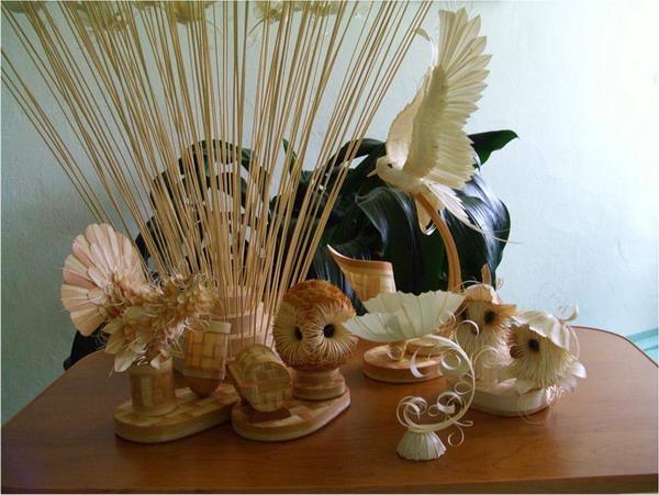Сувениры из древесной стружки. Дмитрий Пономарев/The Epoch Times