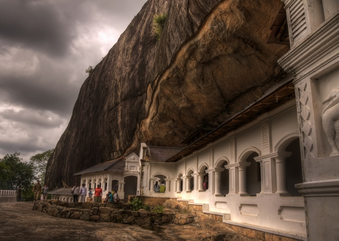 Комплекс печерних храмів Дамбулла. Фото: james_gordon_losangeles/Flickr