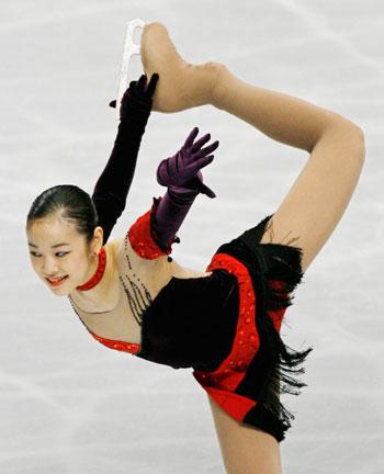 Tango de Roxane: короткая программа на чемпионате мира-2007 в Токио. Фото: TORU YAMANAKA/AFP/Getty Images