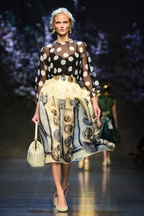 Dolce & Gabbana на Milan Fashion Week. Фото: Vittorio Zunino Celotto/Getty Images