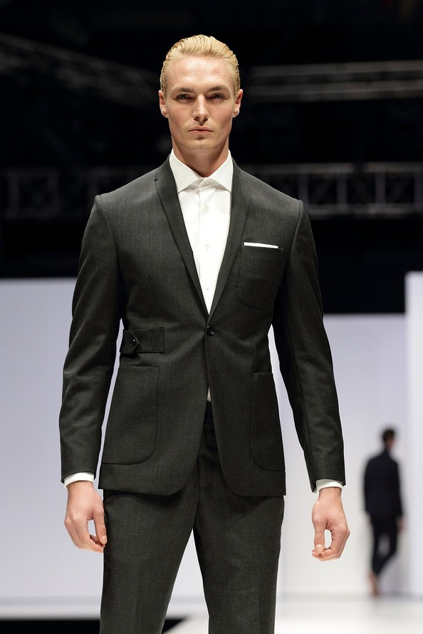 Чоловіча колекція осінь-зима 2012/13 від SONZIO і Spencer Hart на Singapore Men's Fashion Week. Фото: Suhaimi Abdullah/Getty Images