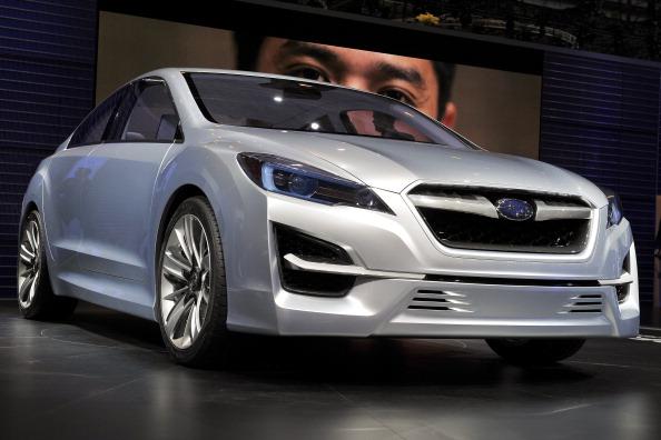 Subaru Impresa concept car. Фото:SEBASTIAN DERUNGS/Getty Images