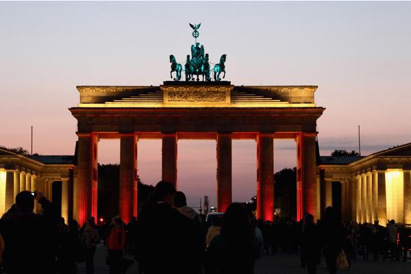 Бранденбургские ворота. Фото:Andreas Rentz/Getty Images