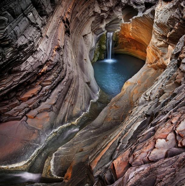Ущелье Хамерсли. Национальный парк Кариджини, Австралия. Фото: Ignacio Palacios/travel.nationalgeographic.com