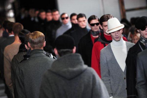 Мужская коллекция от Ив Сен Лоранa/Фото:Getty Images