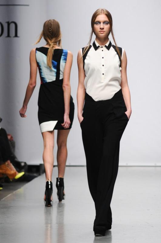 Французький модельєр Жан-П'єр Браганза представив колекцію на Mercedes-Benz Kiev Fashion Dais. Фото: Володимир Бородін/Велика Епоха