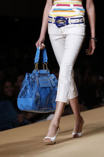 Коллекция от Baby Phat на Неделе моды Mercedes-Benz Fashion Week. Фото: Bryan Bedder/Getty Images