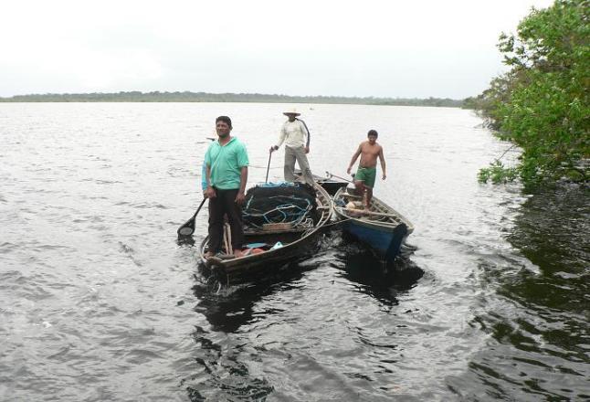 Рибалки Амазонки, найдовшої річки у світі. Фото: Eduardo Rizzo/The Epoch Times En Espanol